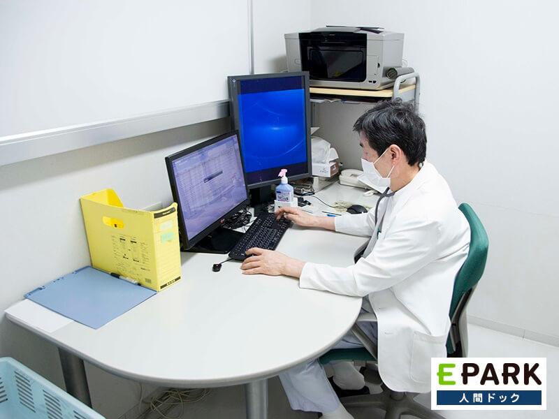 ダブルチェック体制と、検査から治療までのサポートを心がけています。