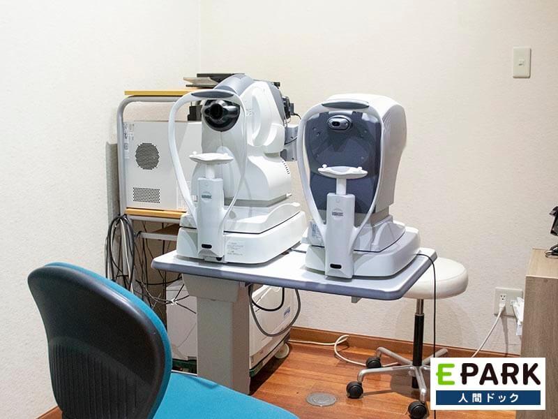 眼底眼圧検査機器です。