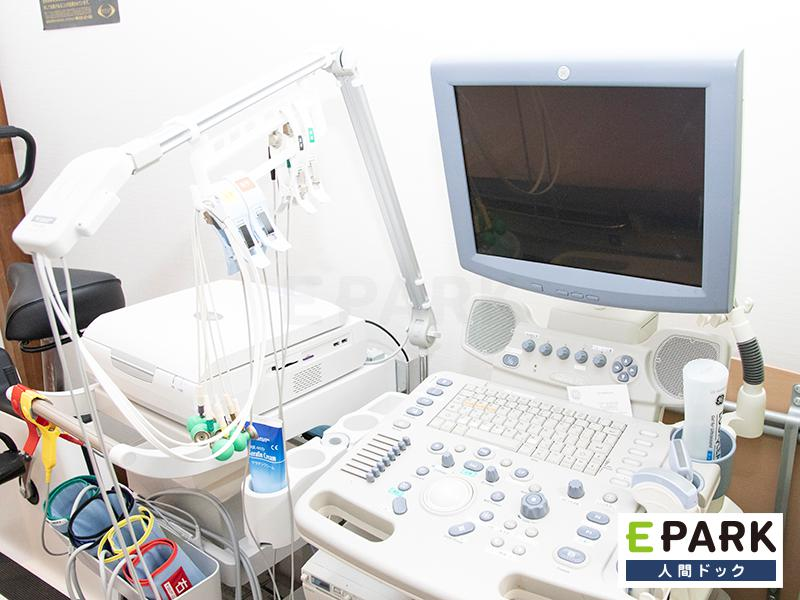 心臓ドック標準コースの主な検査項目に心エコーと運動負荷心電図を設定
