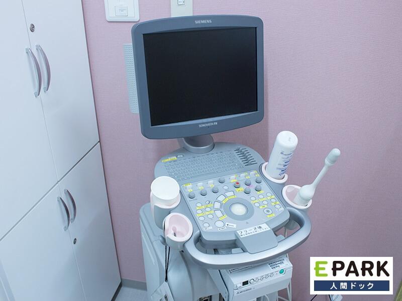 経膣超音波(エコー)検査で疾患の早期発見を。