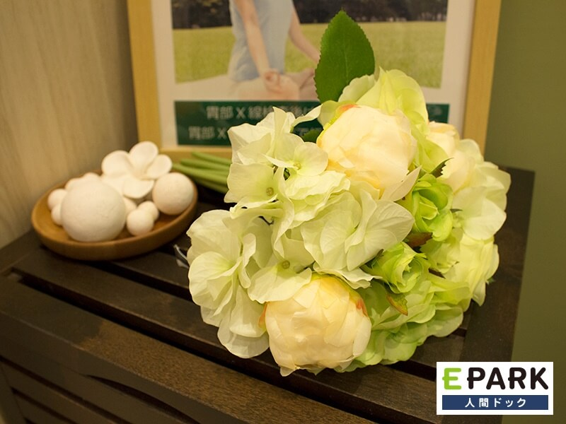 院内には様々なお花を飾っております。