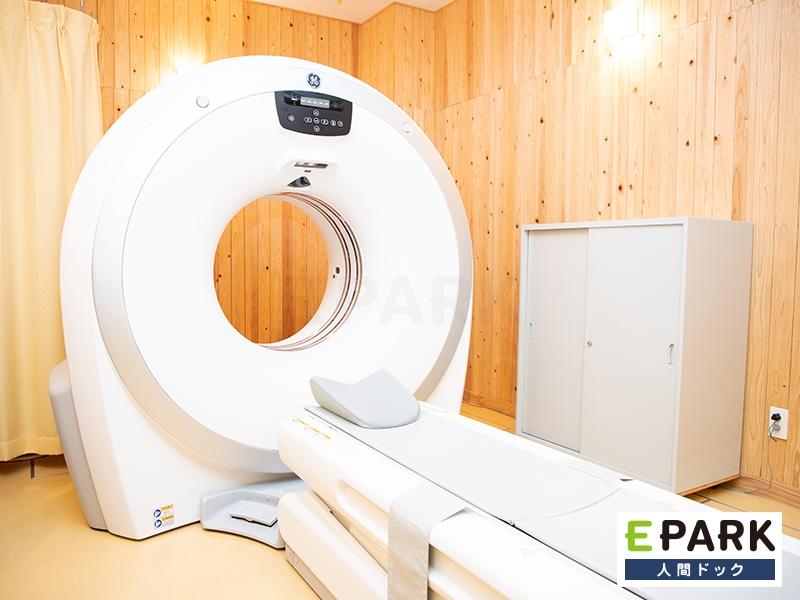 胸部CT検査を行います。