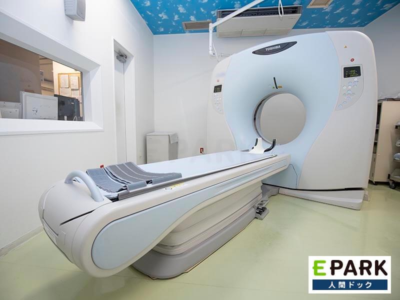 CT検査機器です。