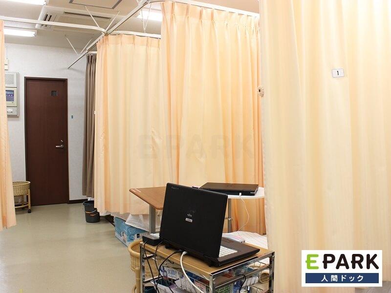 高いレベルの検査設備と受診可能な検査項目