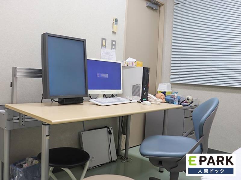 検査結果はできる限り当日午前中に説明/病院併設施設として連携体制
