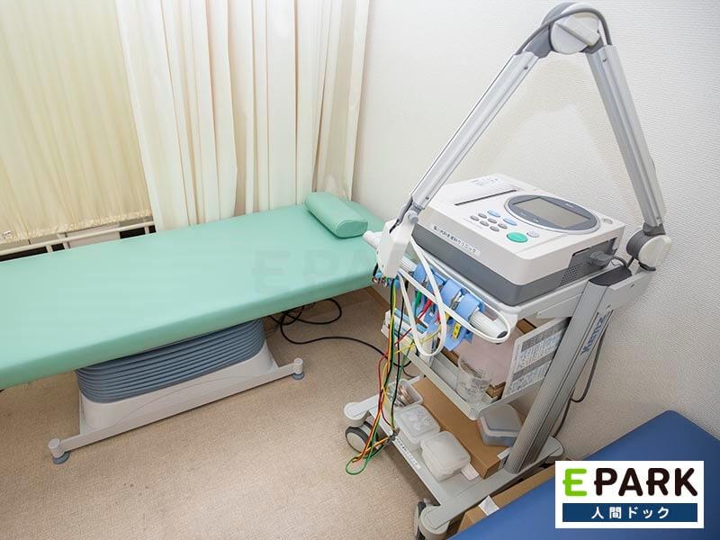 血圧脈波検査機器です。