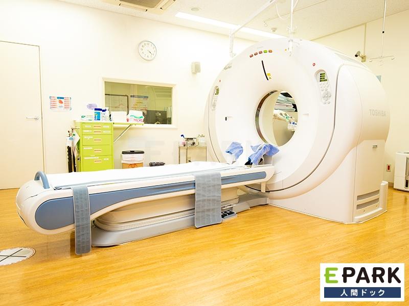 CT検査を行います。