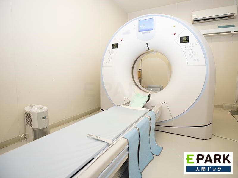 肝臓、すい臓、肺、乳房を調べる各コースでピンポイントの要望に配慮