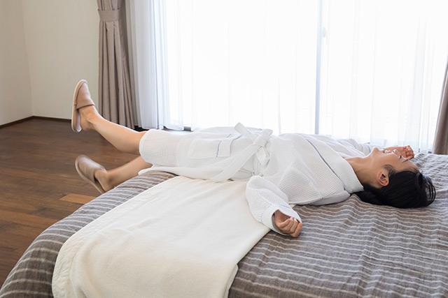 医療施設では、休息の一環として人間ドックを受診することを、健康管理の1つのスタイルとして提案しています。