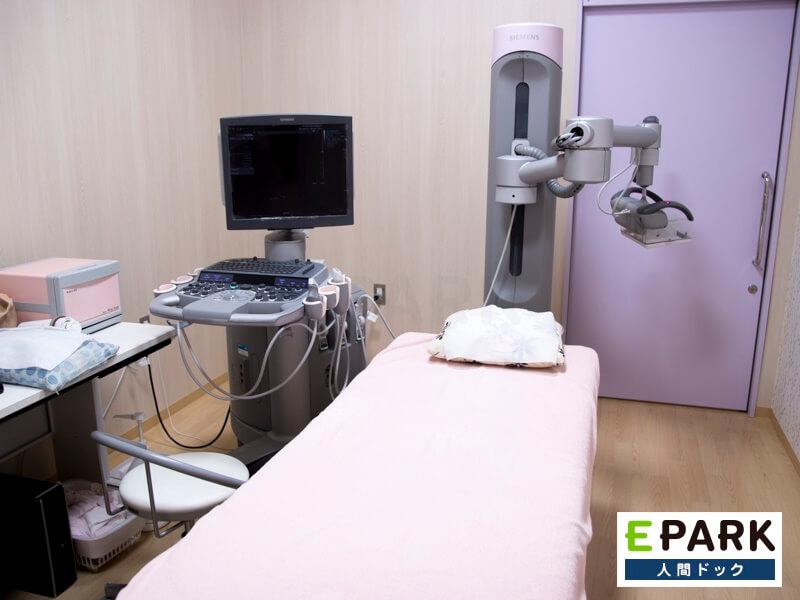 乳房専用3D超音波装置(ABVS)です。