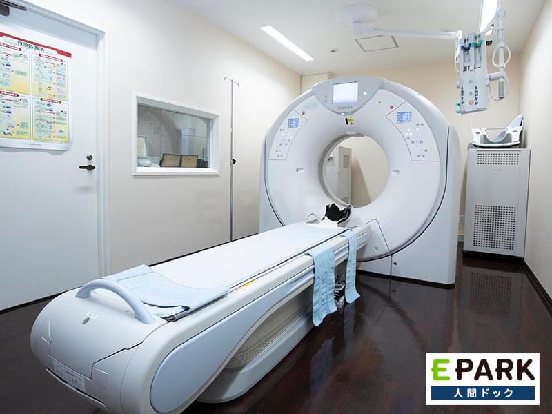全身CT検査以外に内臓脂肪の測定も可能