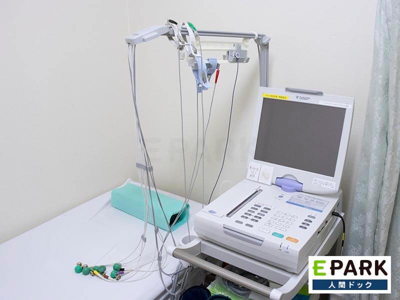心電図測定器です。