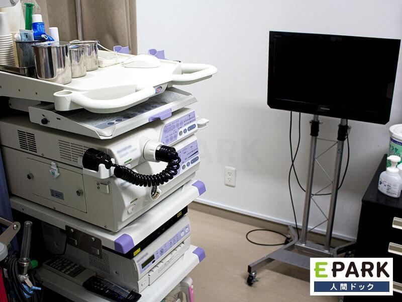 にしくぼ診療所の検診機器