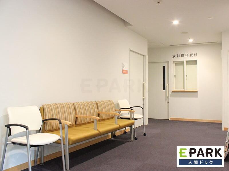 にしくぼ診療所の待合室