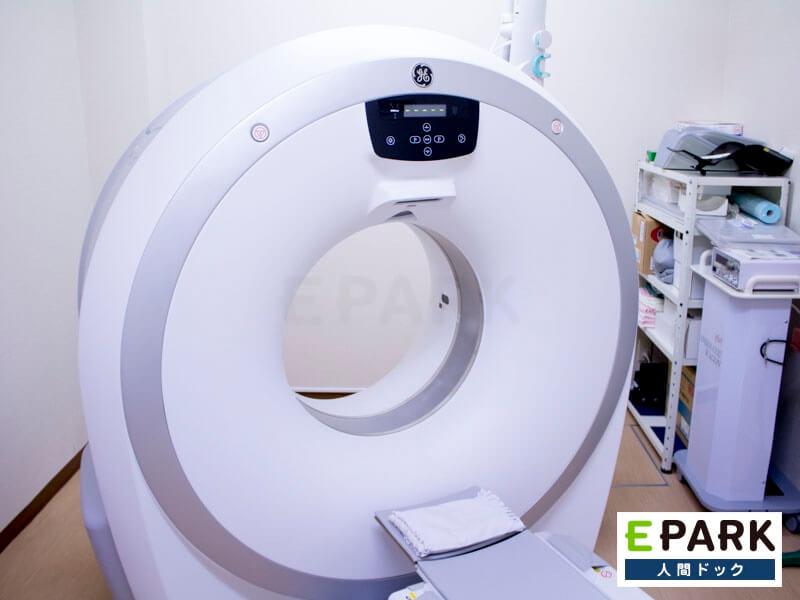 CT、内視鏡など多数の検査機器を保有