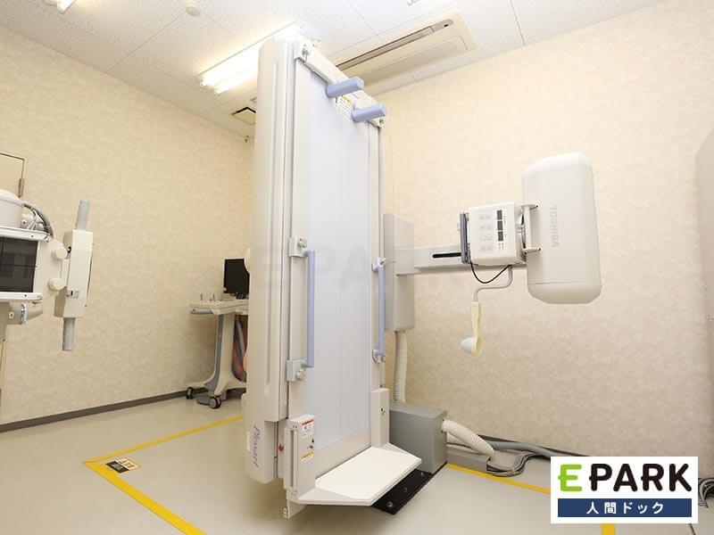「オプション検査」として「胃レントゲン検査」「胸部レントゲン検査」を設定