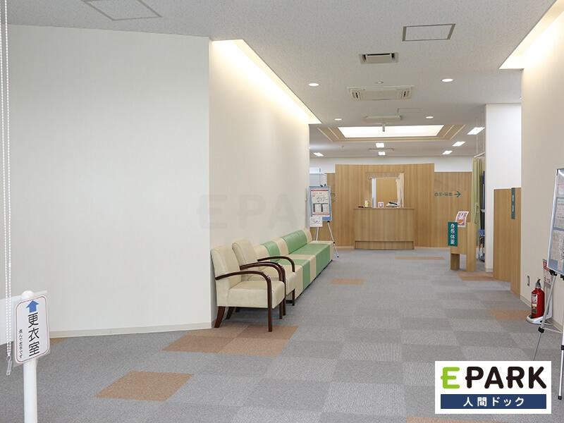 各検査室前待合スペースです。