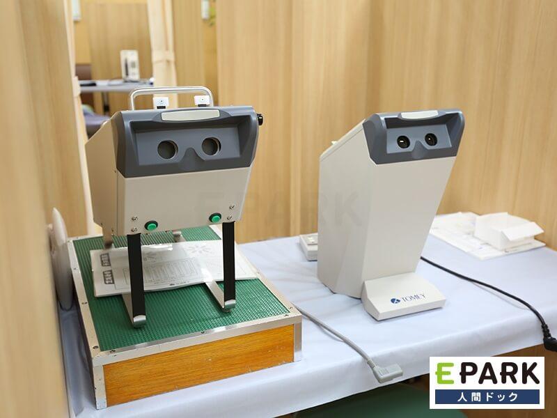 視力検査器です。